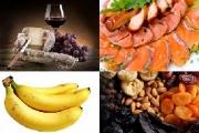 تداخل مواد غذایی حاوی تیرآمین و داروها